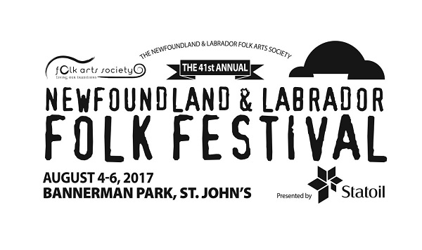 2017 Newfoundland & Labrador Folk Festival from Fri Aug 4 to Sun Aug 6, 2017